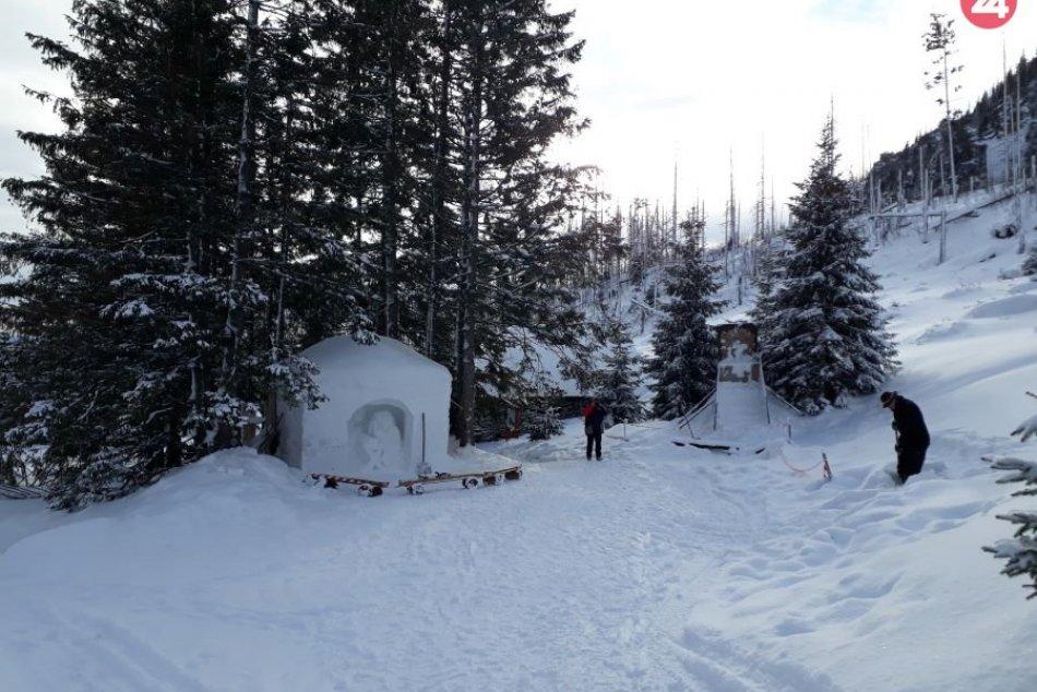 Betlehem pri Rainerovej chate: Pozrite tú nádheru