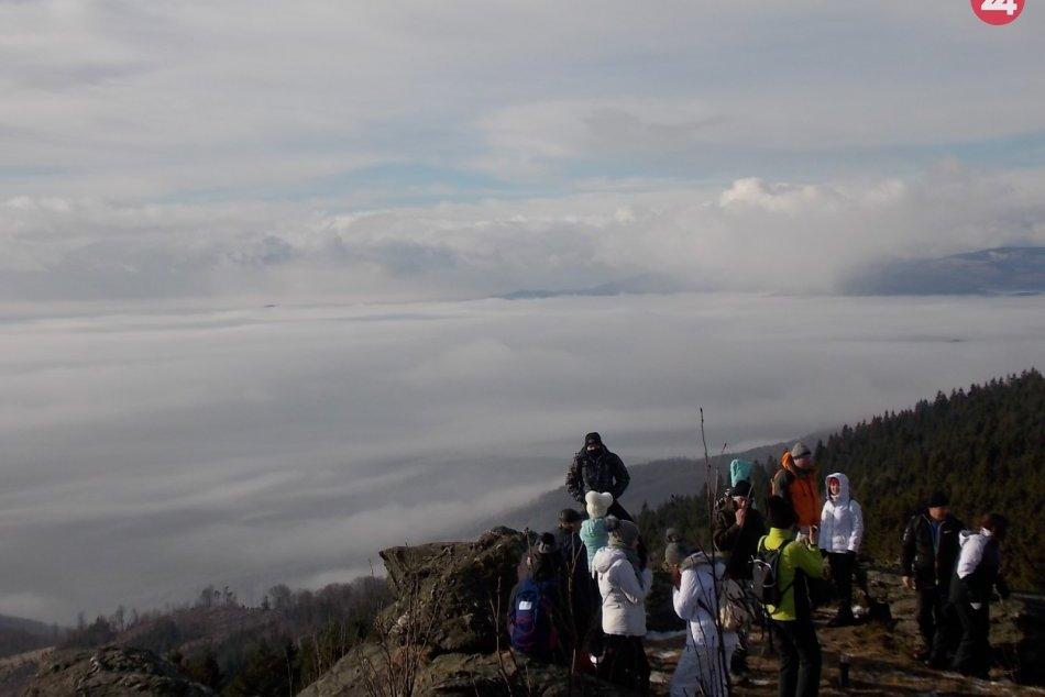 Obrazom: Novoročný výstup na Volovec 2020