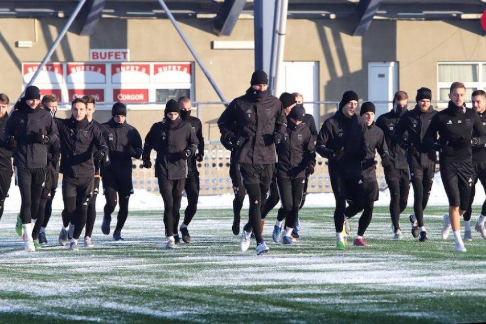 FOTO: Začiatok zimnej prípravy MFK Ružomberok
