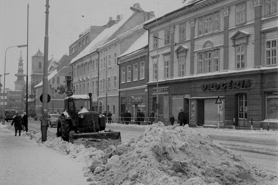 Zima v Bratislave a okolí v roku 1967