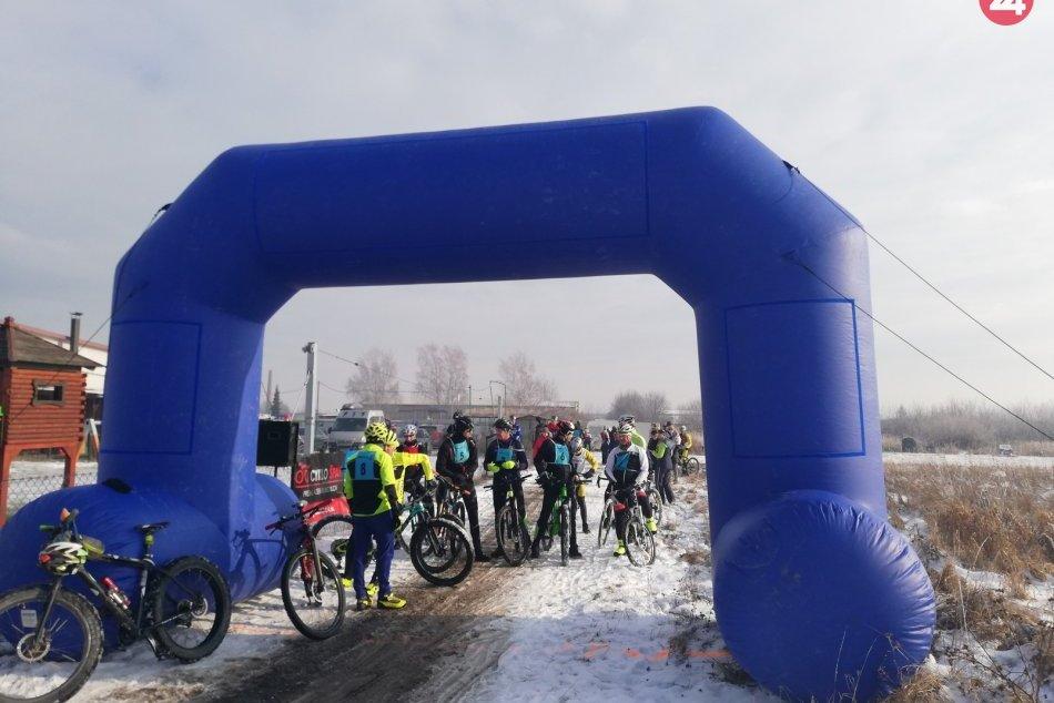 Tretí ročník cyklistických pretekov na snehu
