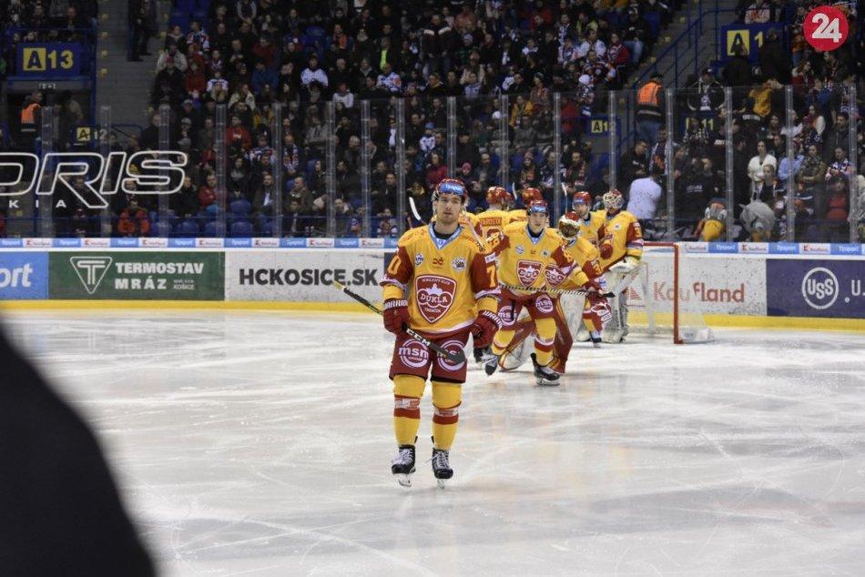 V OBRAZOCH: HC Košice-Dukla Trenčín