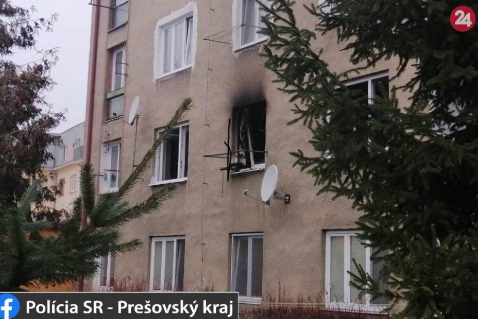 Obrazom: V Prešove horel byt, ľudí evaukovali