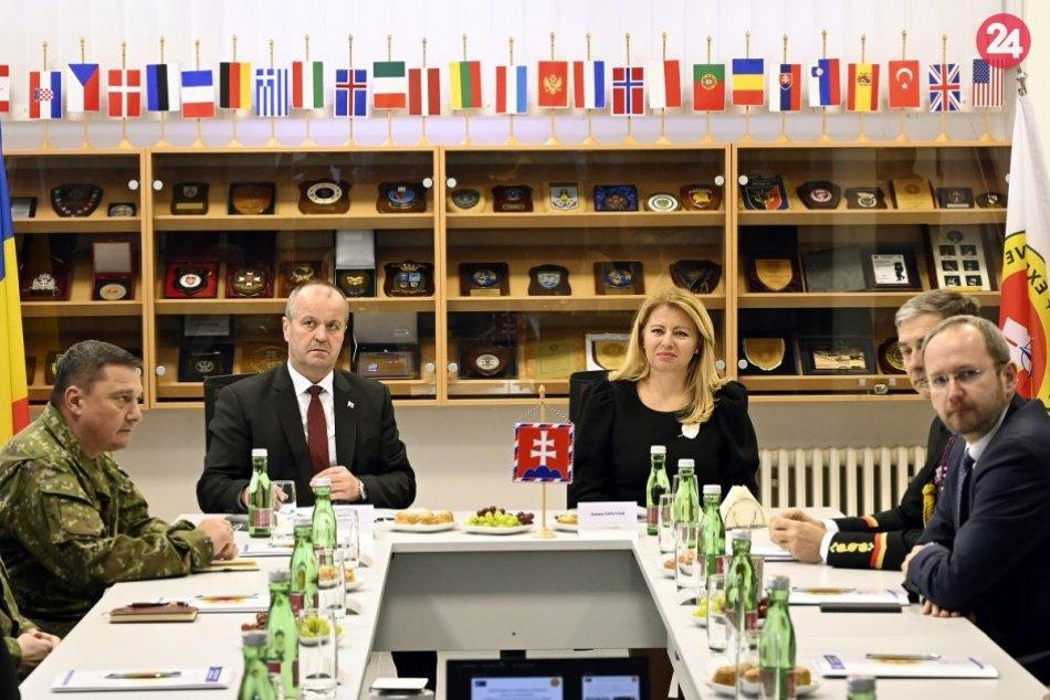 FOTO: Prezidentka SR Zuzana Čaputová na výjazde v Trenčianskom kraji