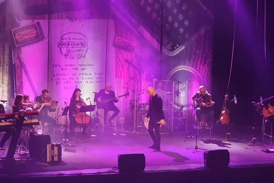 Obrazom: Koncert skupiny No Name v Rožňave
