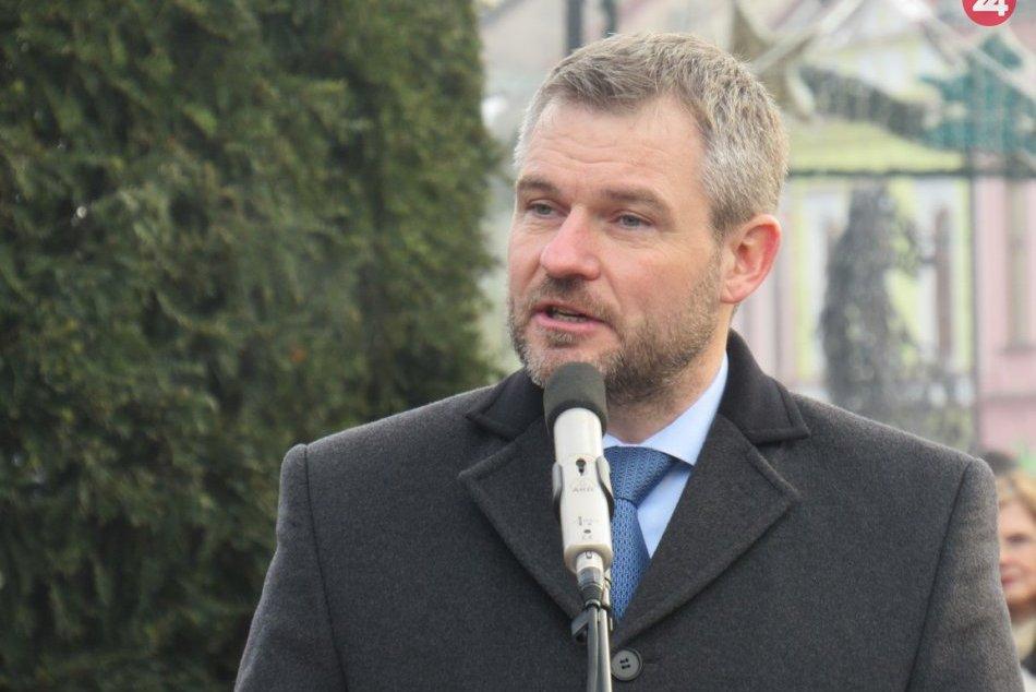 Obrazom: Peter Pellegrini navštívil Prešov, témou bola situácia po výbuchu