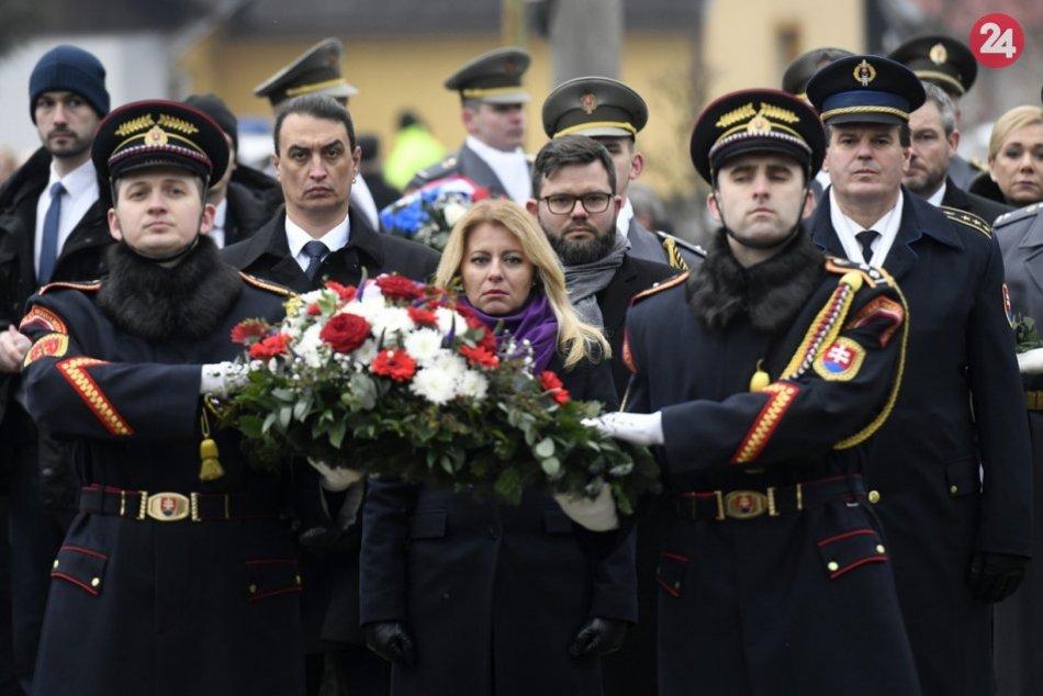 Vládni predstavitelia sa zúčastnili pietnej spomienky v Kľakovskej doline