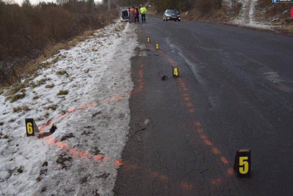 Pri dopravnej nehode  sa ťažko zranilo 8-ročné dieťa