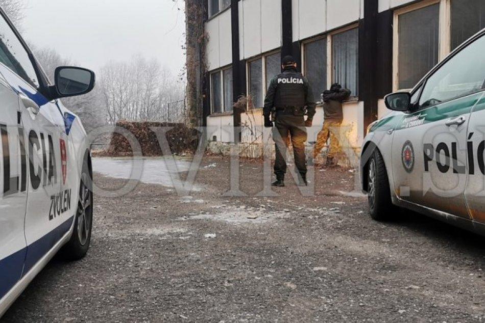 V OBRAZOCH: Ranná streľba pri zimnom štadióne vo Zvolene