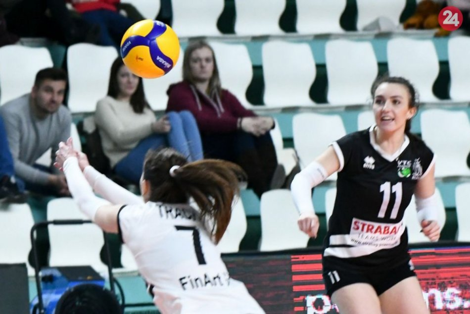 Volley project UKF Nitra - Strabag VC Bilíkova Pezinok 3:1