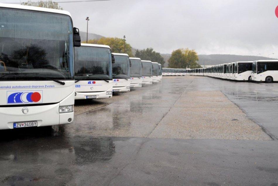 Autobusy SAD Zvolen - ilustračné