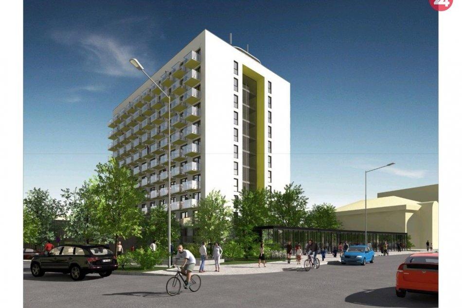Bývalú ubytovňu plánuje investor prerobiť: Vzniknúť tu má vyše 100 bytov