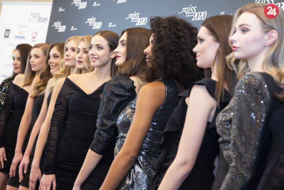V OBRAZOCH: Finalistky Miss Slovensko 2020