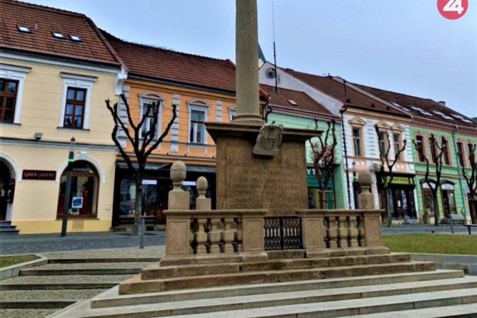 FOTO zimného Trenčína