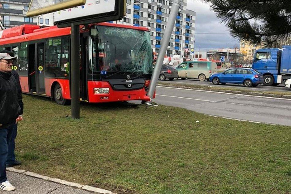 Nehoda trolejbusu na Kazanskej