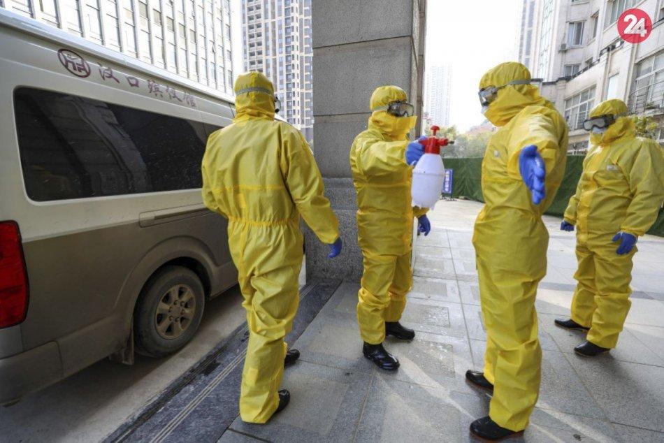 Koronavírus sužuje Čínu