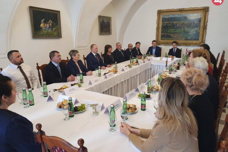 Obrazom: Návšteva prezidentky Zuzany Čaputovej v Rožňave