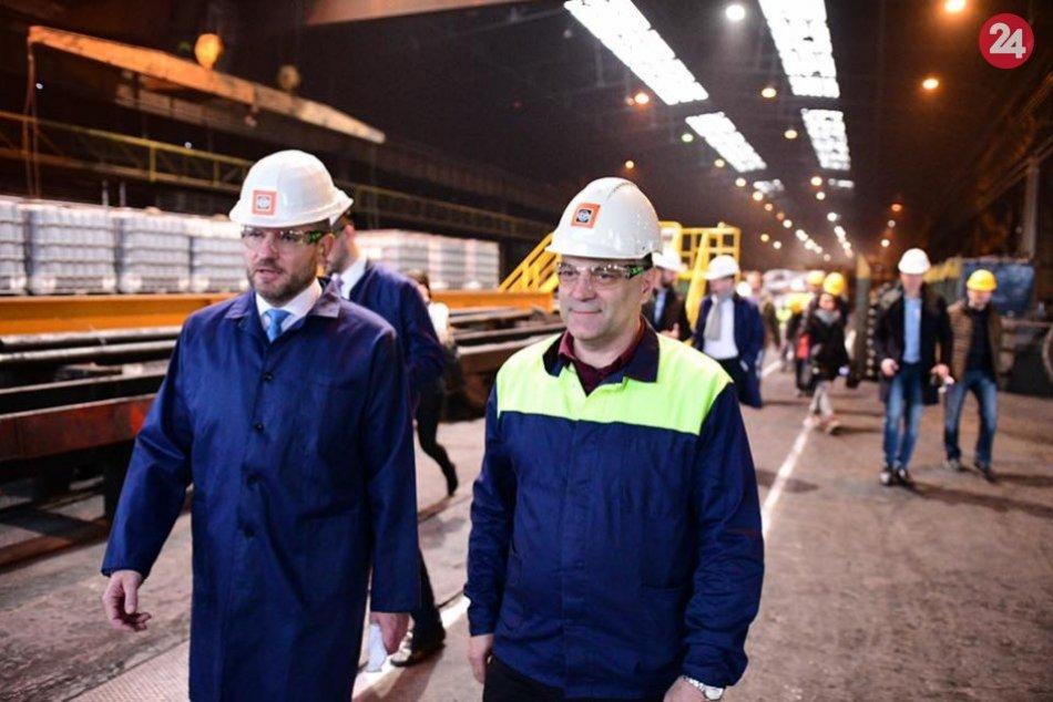 Premiér Pellegrini na návšteve Horehronia