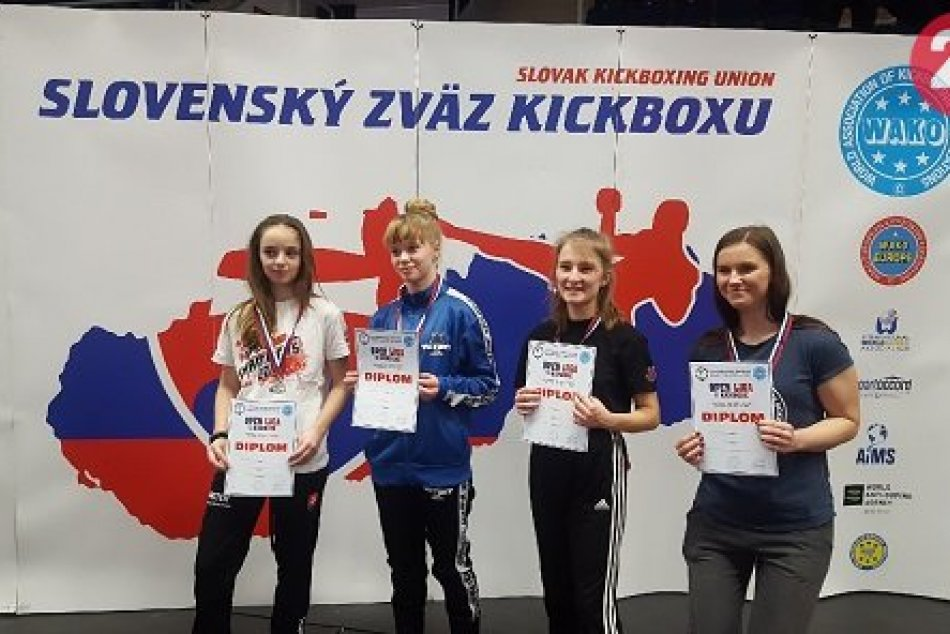 V OBRAZOCH: Revúcki kickboxeri v Poprade vybojovali 15 medailí
