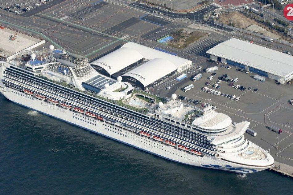 Výletná loď Diamond Princess v karanténe pre koronavírus