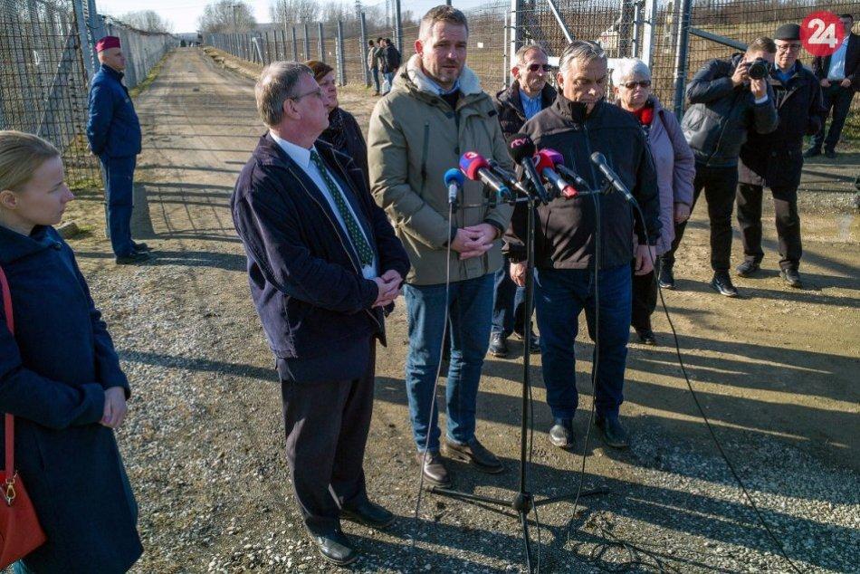 Premiér Pellegrini potvrdil: Aj Slovensko ochráni južné hranice Maďarska, FOTO