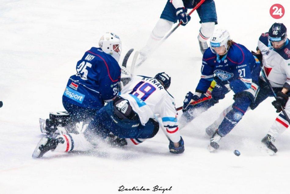 HK Nitra - Slovan Bratislava 1:4 v 49. kole