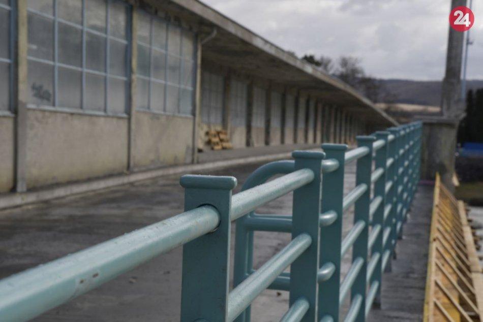 Kolonádový most prechádza rekonštrukciou