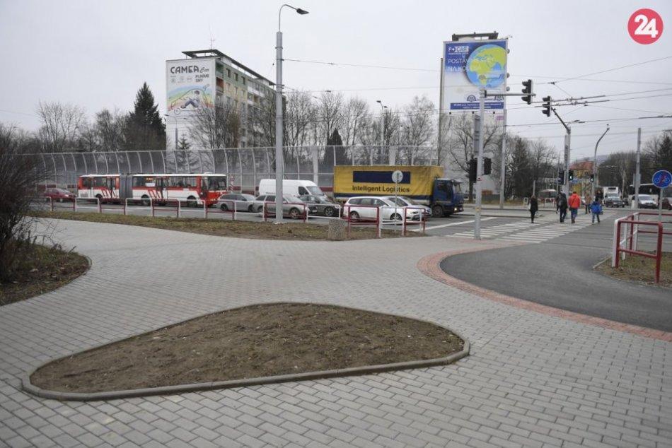 Obrazom: Oficiálne otvorenie križovatky na Levočskej ulici v Prešove