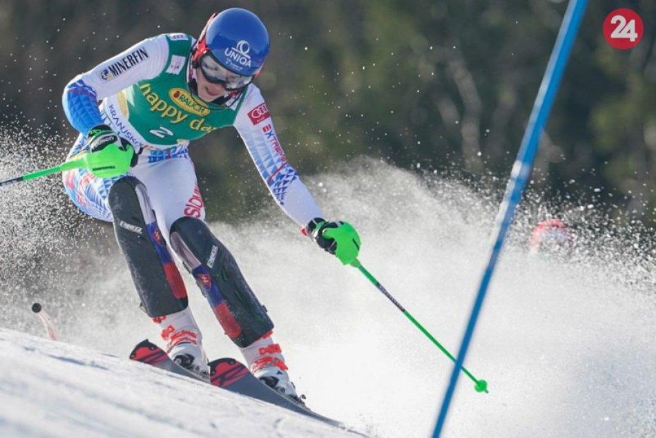 Petra Vlhová vyhrala slalom v Kranjskej Gore