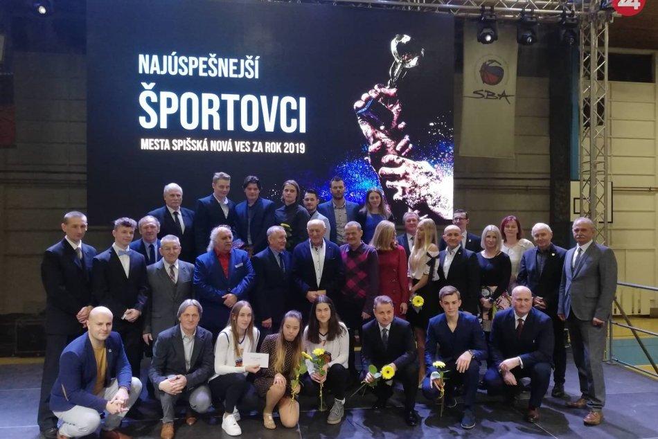 OBRAZOM: V Spišskej ocenili športovcov za rok 2019