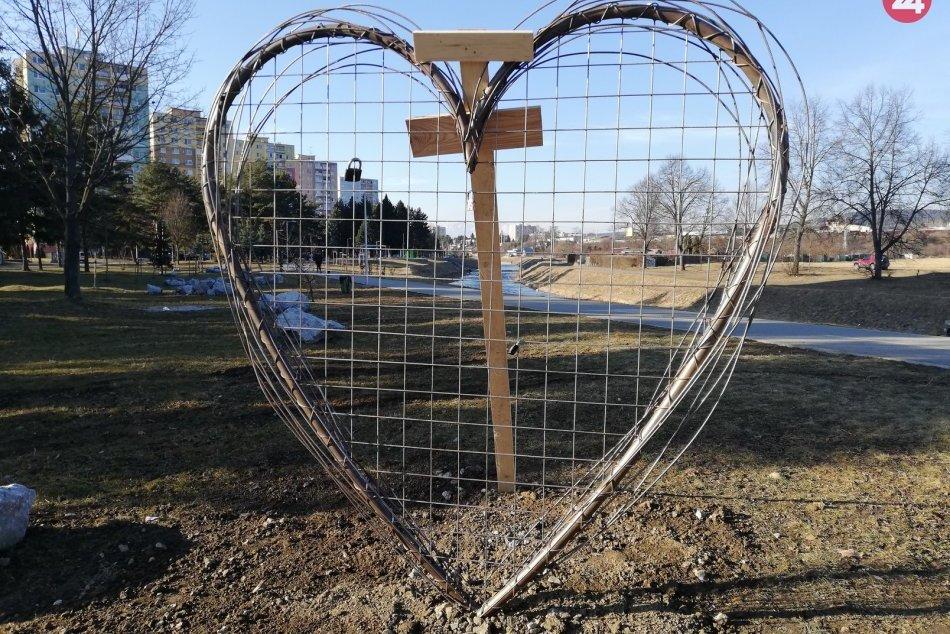 V Spišskej pribudol symbol lásky