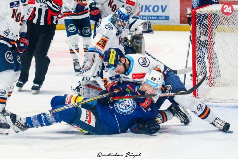 HK Nitra - HC Košice 1:3 v 51. kole