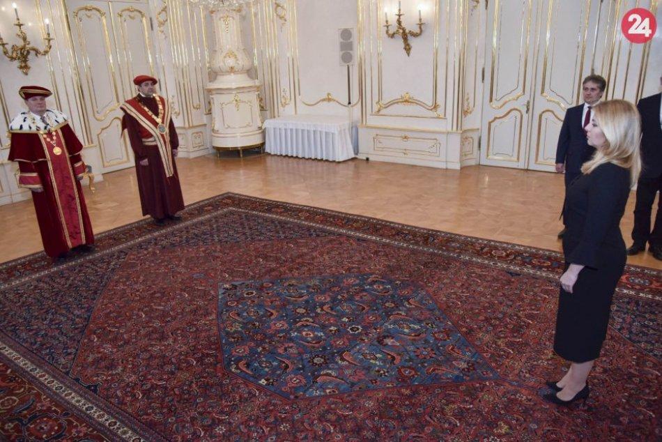 V OBRAZOCH: Prezidentka vymenovala dvoch rektorov vysokých škôl