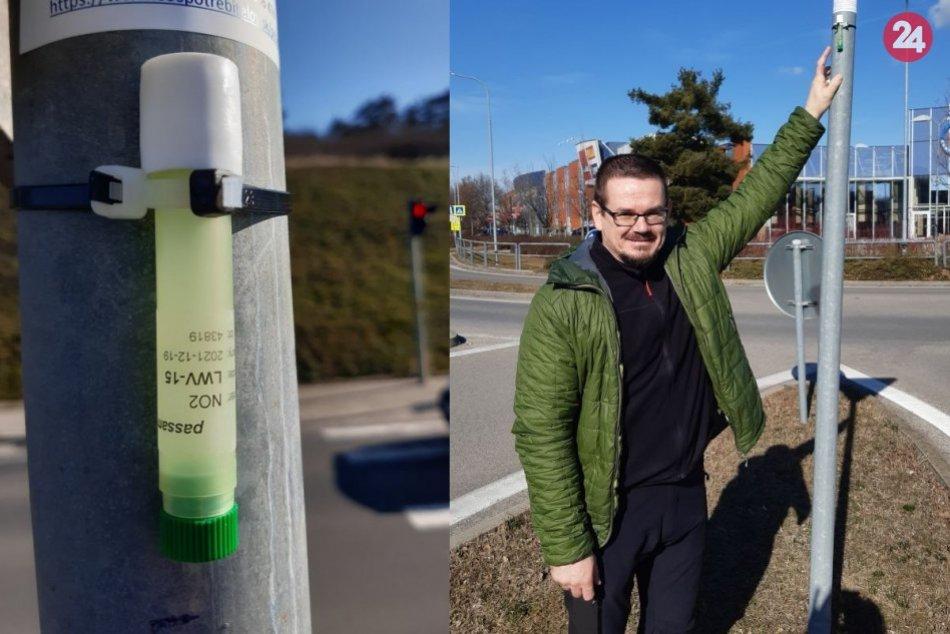 Trubice na meranie znečistenia ovzdušia