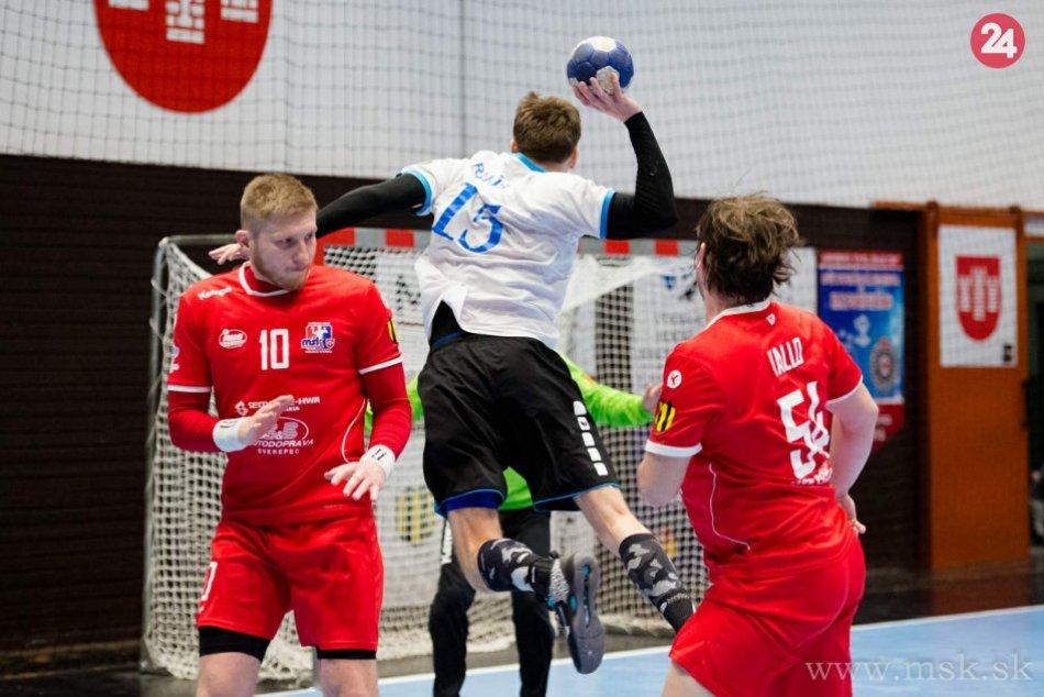 FOTO: MŠK Považská Bystrica - HC Sporta Hlohovec 26:18