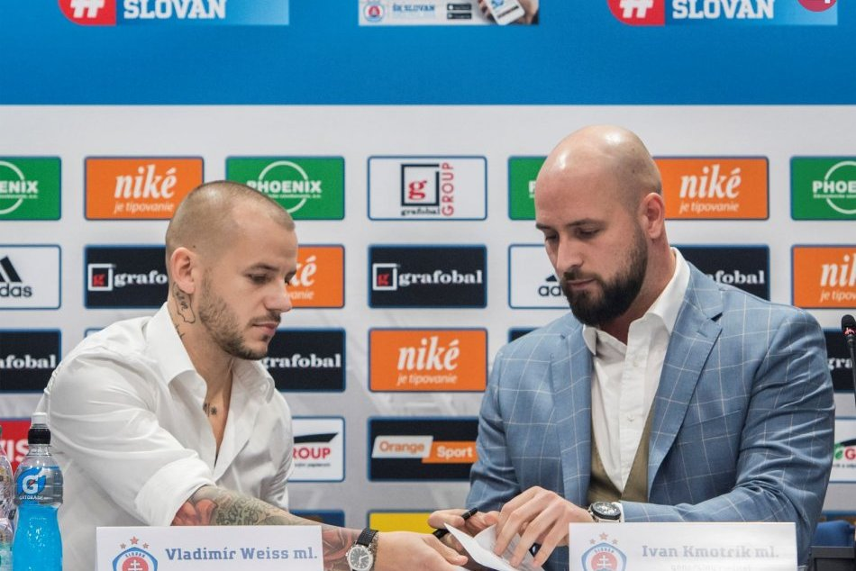 Weiss sa upísal Slovanu