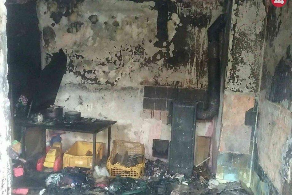 FOTO Z MIESTA tragickej udalosti: Požiar v Dobšinej si vyžiadal život troch detí