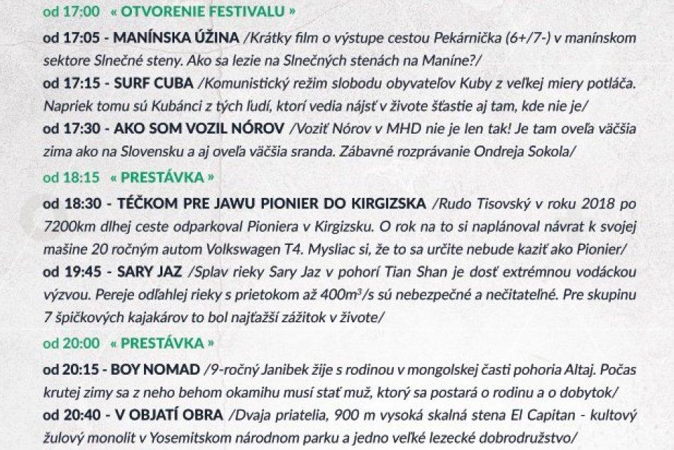 Expedičná kamera Považská Bystrica 2020