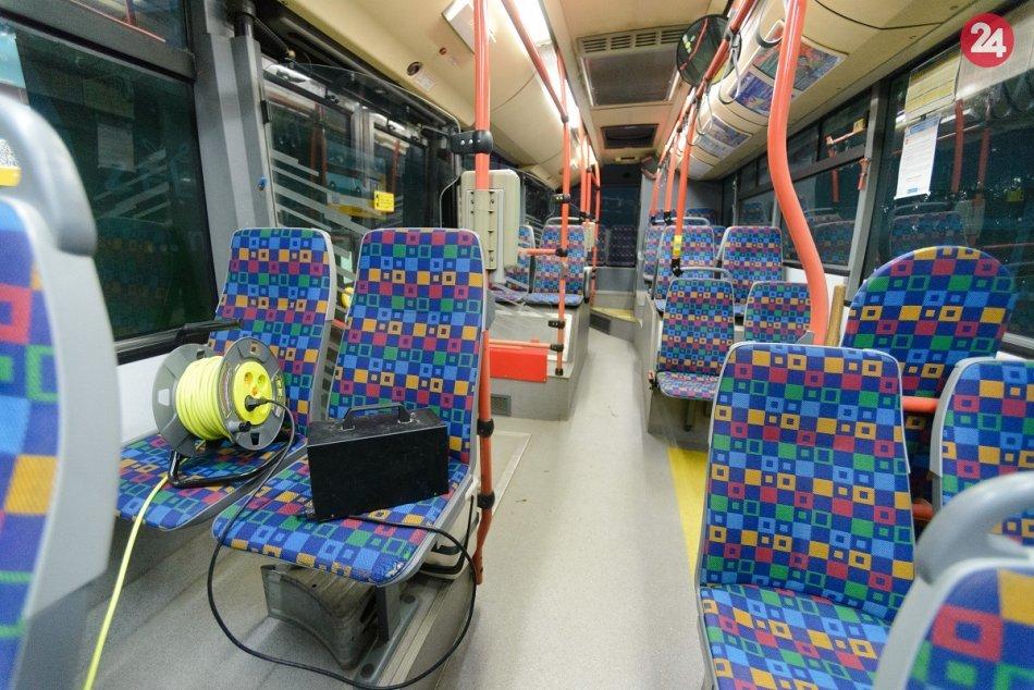 Dezinfekcia autobusov MHD v Nitre