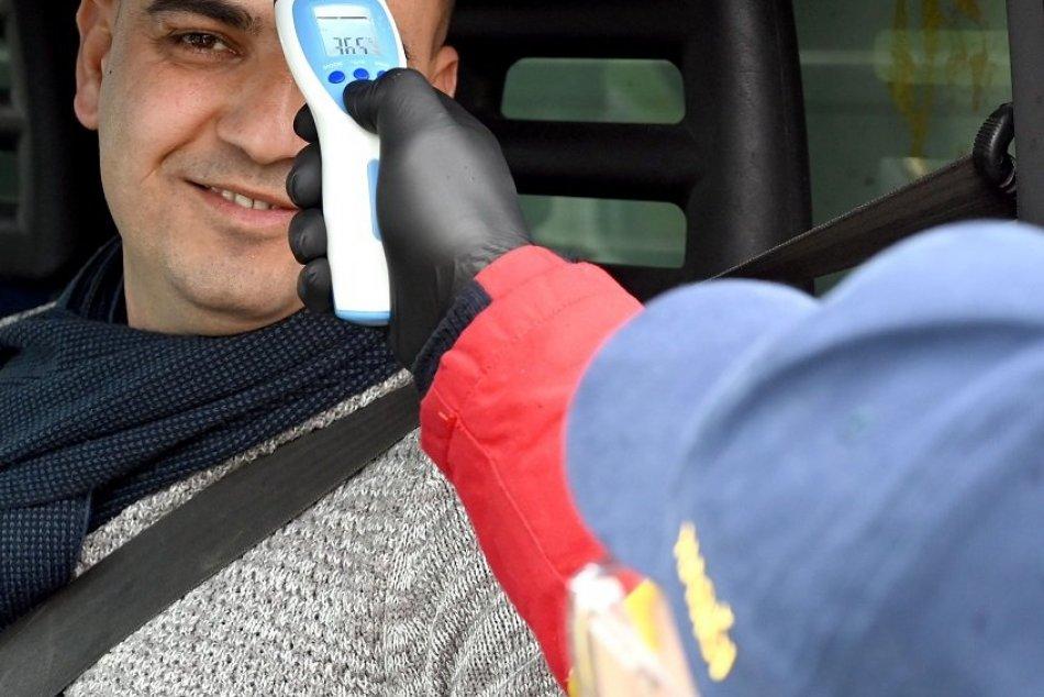 Policajné kontroly na hraničných priechodoch v súvislosti s koronavírusom