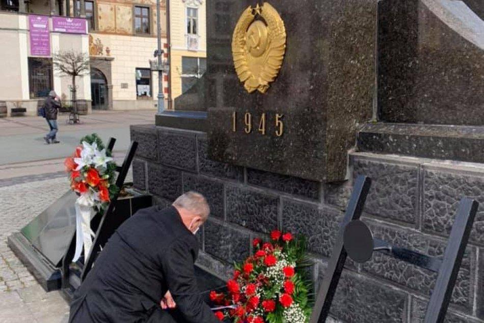 Nosko si uctil 75. výročie oslobodenia mesta