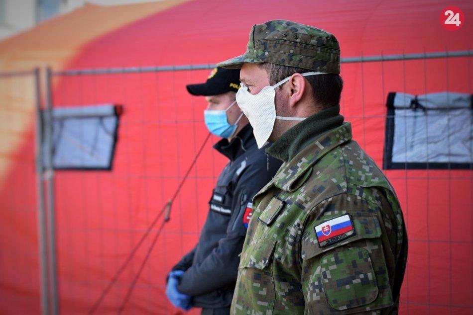 V Nemocnici Svet zdravia Michalovce zvýšili bezpečnosť armádou