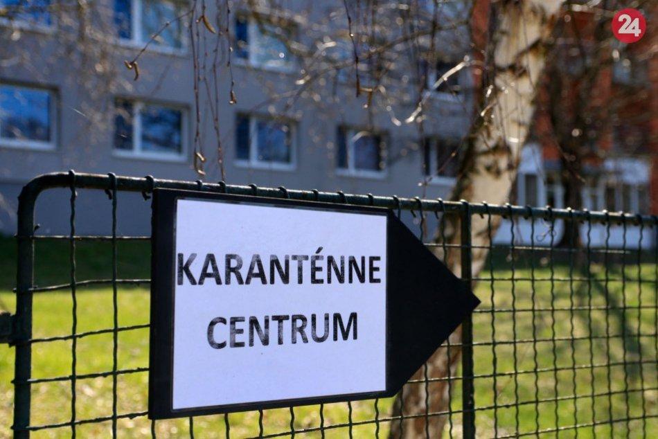 V OBRAZOCH: BBSK otvoril vo Zvolene karanténne centrum pre ľudí zprvej línie
