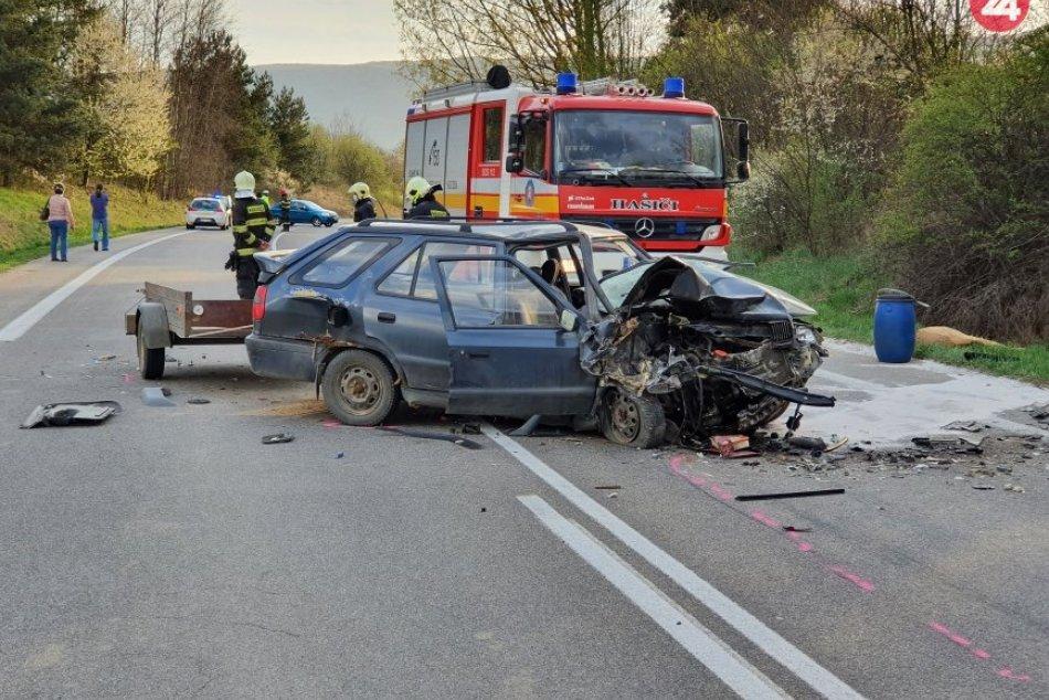 Obrazom: Dopravná nehoda pri Rožňave