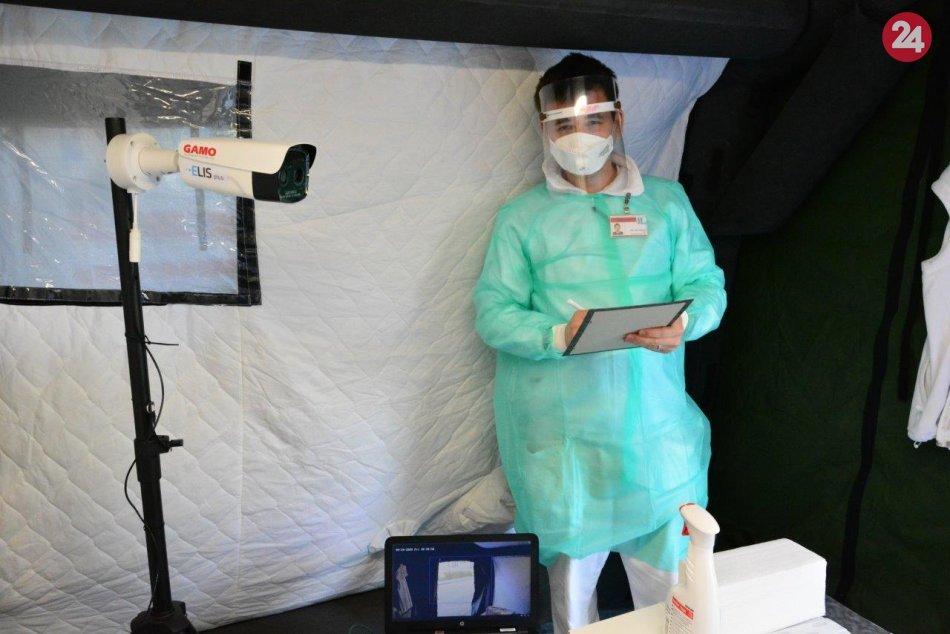 V OBRAZOCH: Teplotu bude rizikovým pacientom merať hybridná termo kamera