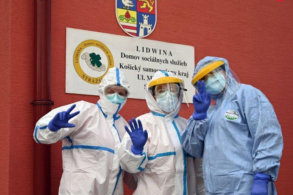 Otestovali zamestnancov v DSS Harmónia a Lidwina