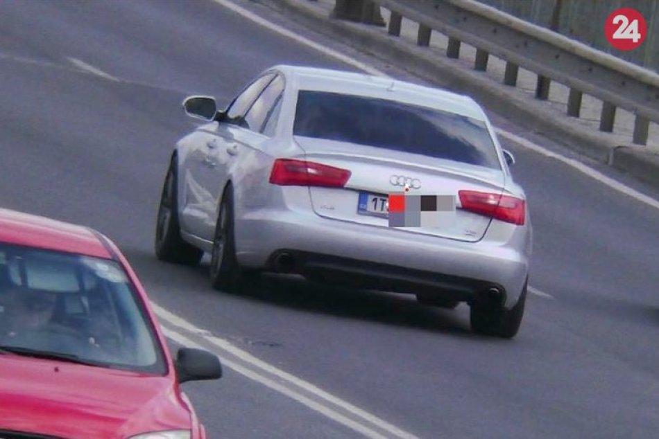 Vodič sa po Topoľčanoch rútil rýchlosťou 122 km/h