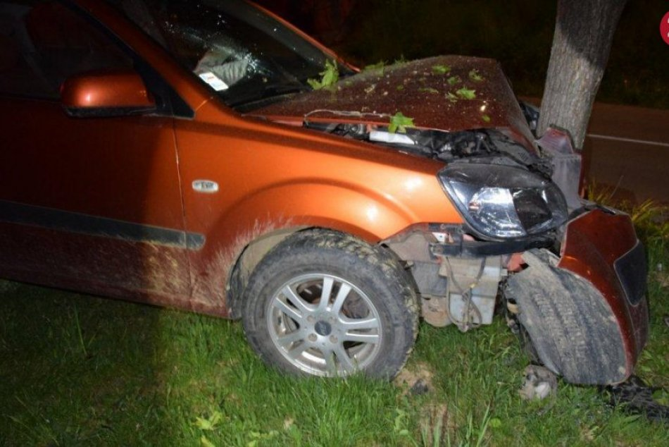 FOTO z nehody v Hrabovke: Vodič s vyše 2 promile skončil na súde v Trenčíne