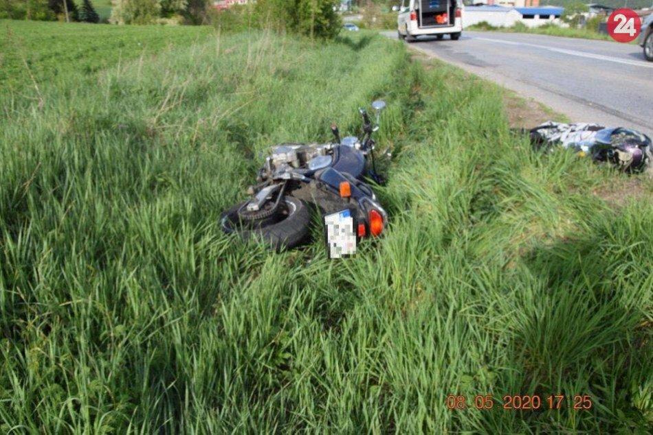 OBRAZOM: Neznámy vodič neďaleko Bystrice spôsobil nehodu, polícia hľadá svedkov
