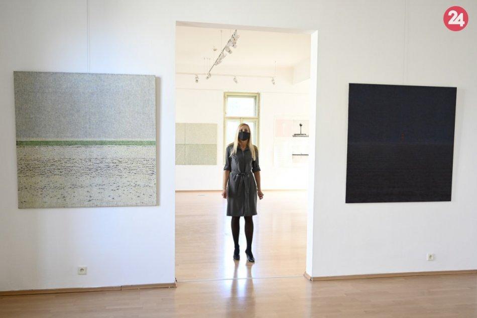 FOTO: Galéria Miloša Alexandra Bazovského v Trenčíne otvorená
